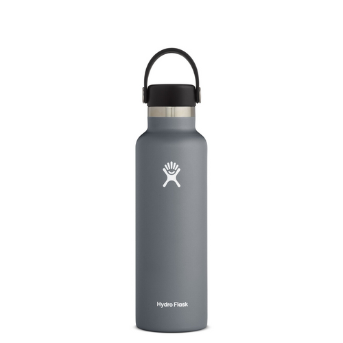 HYRDROFLASK 21 OZ WATER BOTTLE IN STONE