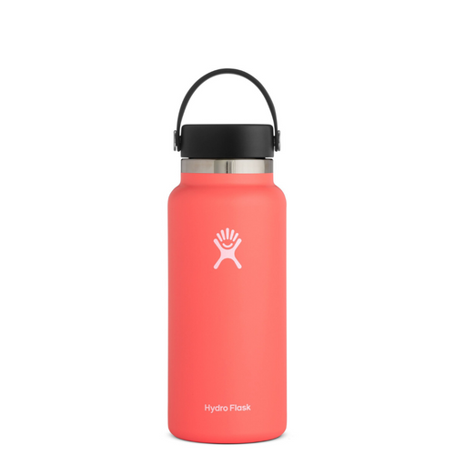 HYRDROFLASK 32 OZ WATER BOTTLE IN HIBISCUS