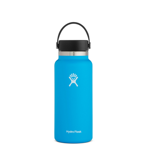 HYRDROFLASK 32 OZ WATER BOTTLE IN PACIFIC
