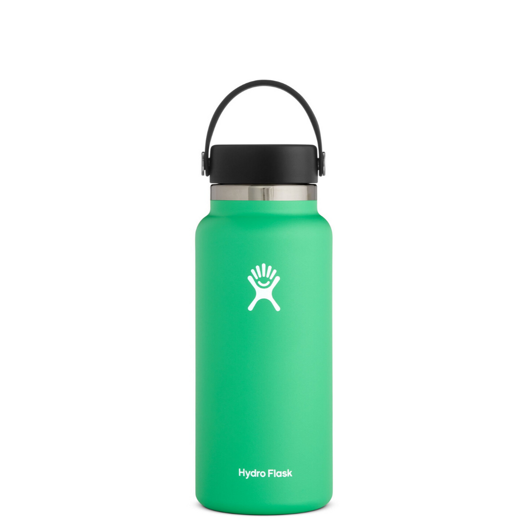 HYRDROFLASK 32 OZ WATER BOTTLE IN SPEARMINT