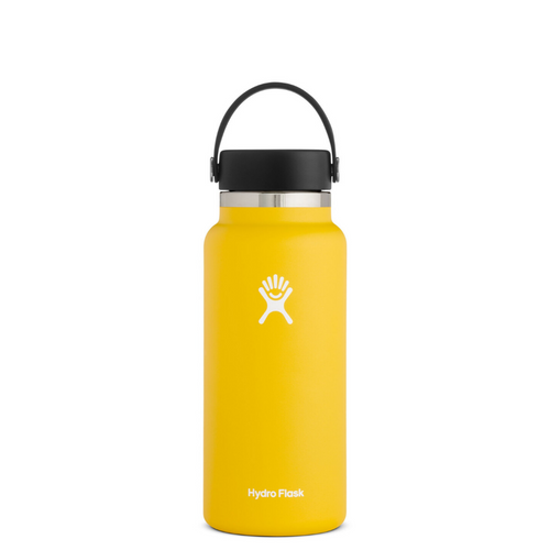 HYRDROFLASK 32 OZ WATER BOTTLE IN SUNFLOWER