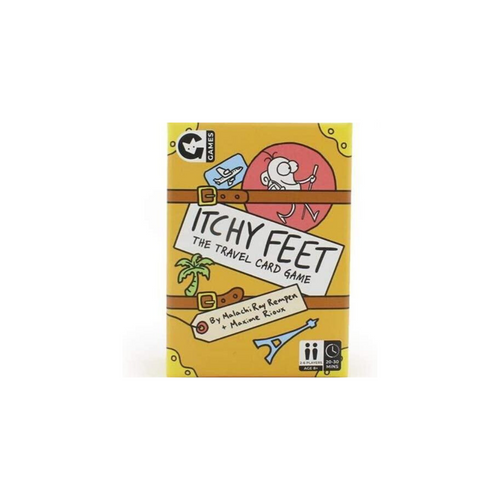 ITCHY FEET  THE TRAVEL GAME BOX
