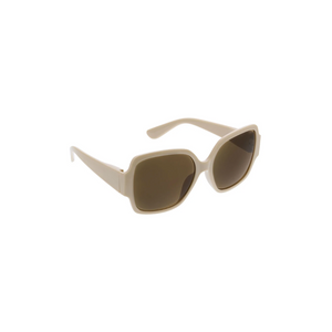 CARMEN SUNGLASSES taupe front side
