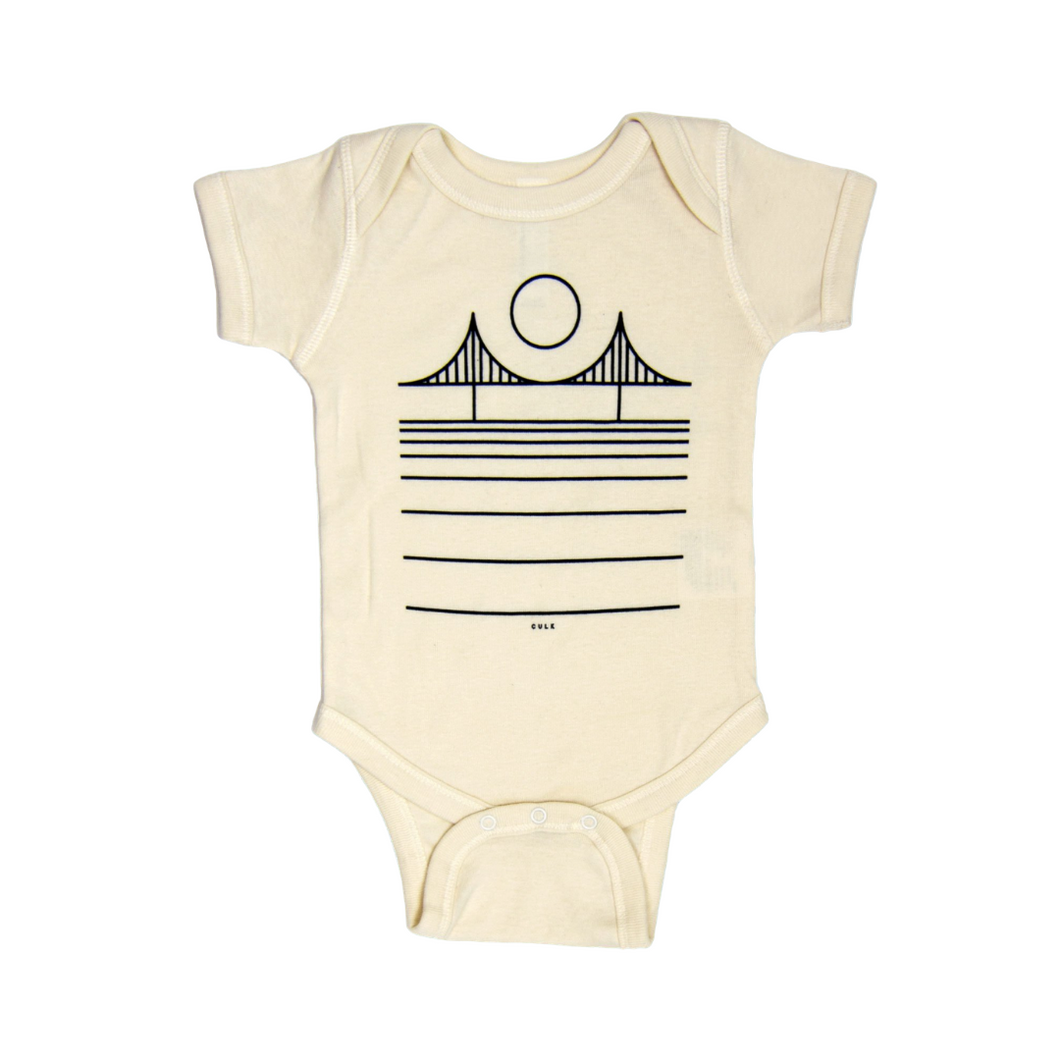 MINIMAL BRIDGE ONESIE