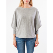 Load image into Gallery viewer, MOLAYLA TOP IN HEATHER GREY