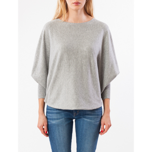 MOLAYLA TOP IN HEATHER GREY