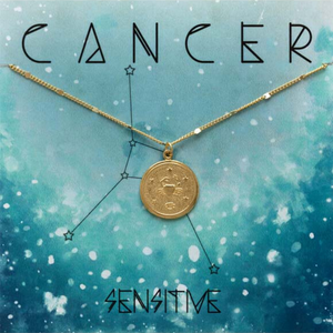 ZODIAC MEDALLION NECKLACE CANCER