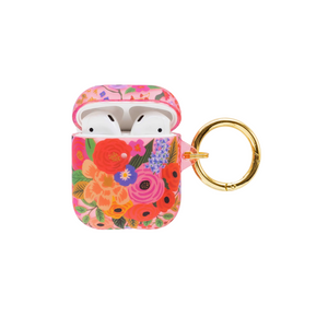 OPENED BLUSH GARDEN PARTY AIRPOD CASE