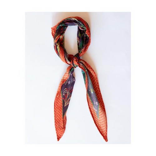 JUNGLE DREAMS DIAMOND SCARF