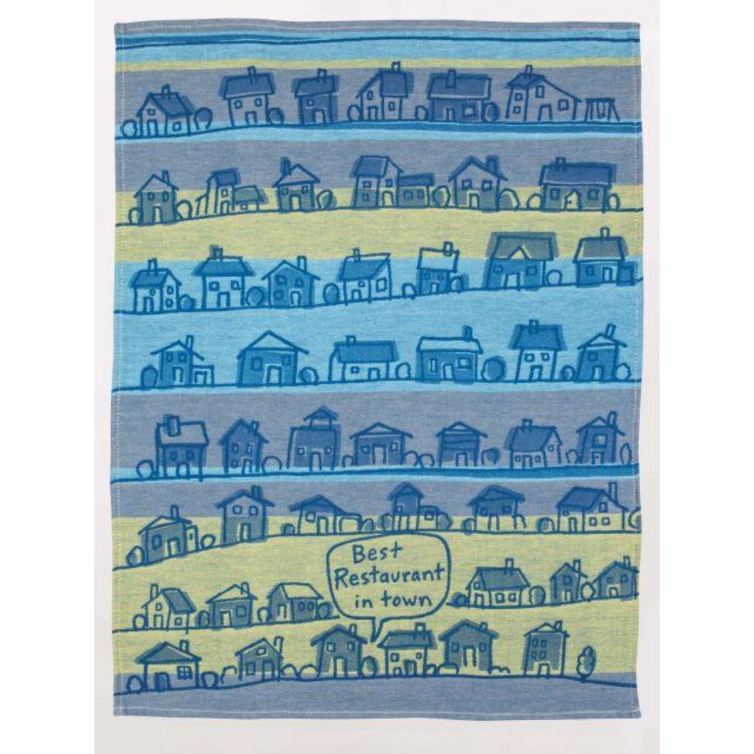 FULL SHOT OF BEST RESTAURANT DISHTOWEL