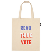 Load image into Gallery viewer, BACK OF GET POLITICAL TOTE