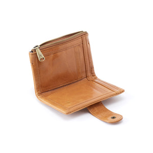 RAY WALLET IN HONEY OPEN VIEW