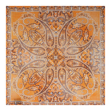 Load image into Gallery viewer, evelyn bandana in orange and yellow
