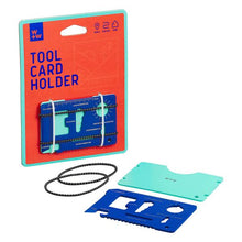 Load image into Gallery viewer, TOOL CARD HOLDER PACKAGING AND TOOLS