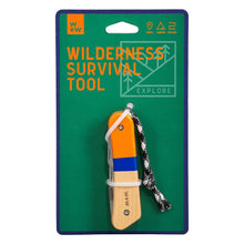 Load image into Gallery viewer, WILDERNESS SURVIVAL TOOL WITH PACKAGING
