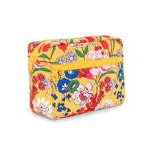 Load image into Gallery viewer, SUPERBLOOM TOILETRY BAG SIDE VIEW