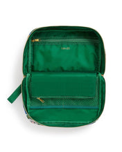 Load image into Gallery viewer, EMERALD BLOOM TOILETRY BAG interior