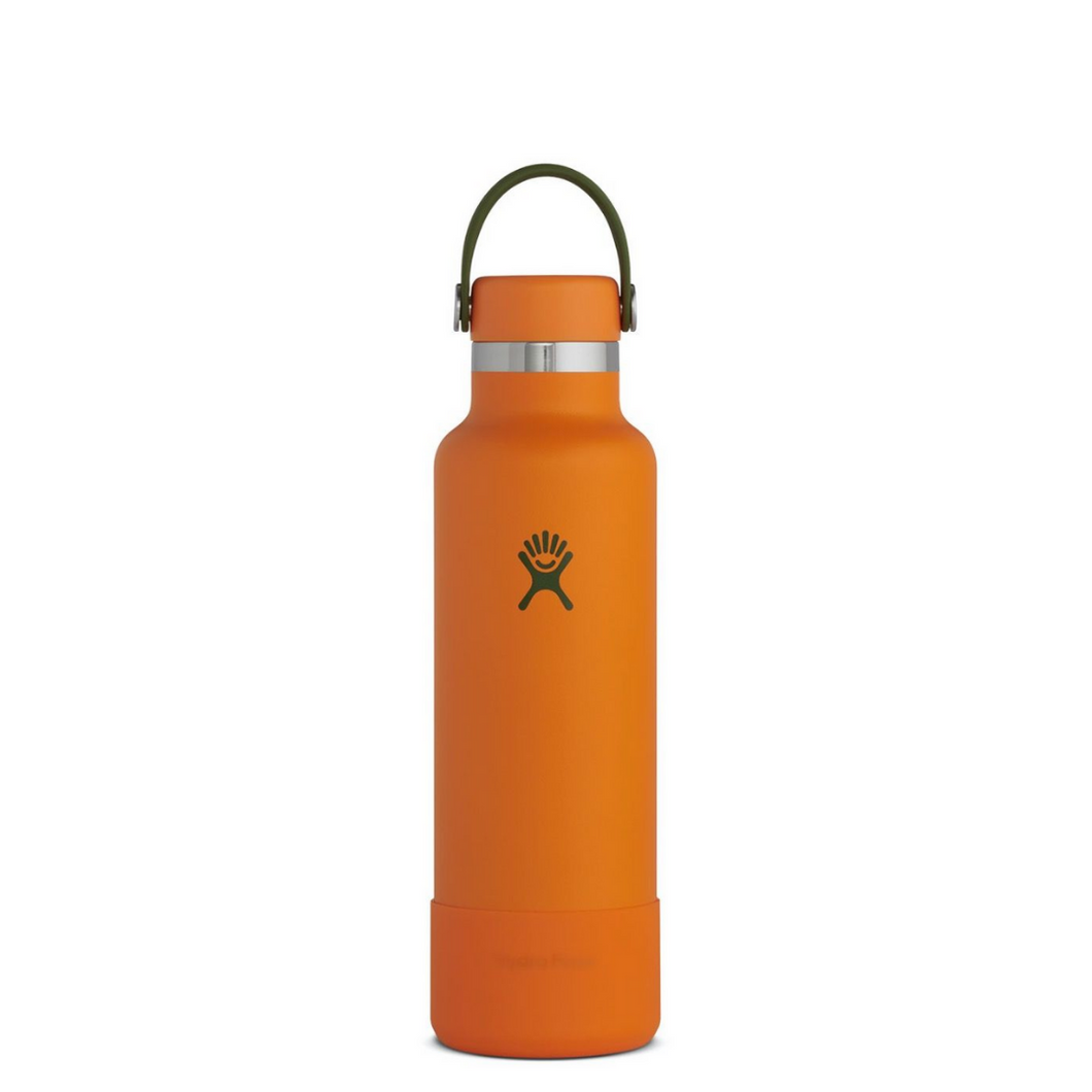 HYDROFLASK 21 OZ STANDARD MOUTH W/ BOOT | BONFIRE