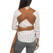 Load image into Gallery viewer, MOBY EVOLUTION WRAP CARAMEL BACK VIEW