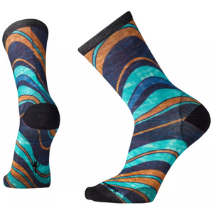 WAVES WOOL CREW SOCKS
