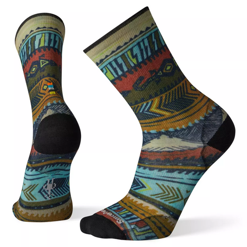 DESERT MIRAGE WOOL CREW SOCKS