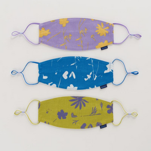MADRAS MIX FABRIC MASK - 3 PACK