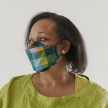Load image into Gallery viewer, MADRAS MIX FABRIC MASK - 3 PACK