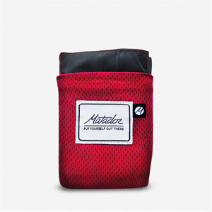 original pocket blanket red
