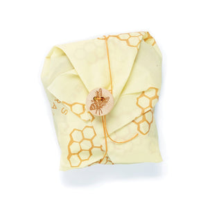 SANDWICH WRAPPED UP IN BEESWAX WRAP