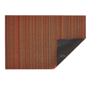 SKINNY STRIPE SHAG - ORANGE
