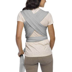 MOBY CLASSIC WRAP STONE GRAY BACK VIEW
