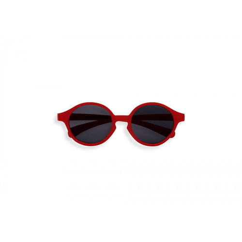 KIDS SUNGLASSES RED front