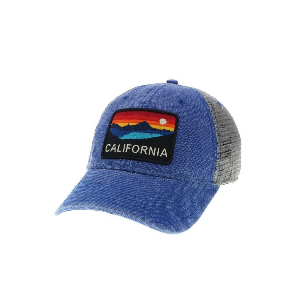 CA HORIZON BASEBALL CAP | ROYAL BLUE
