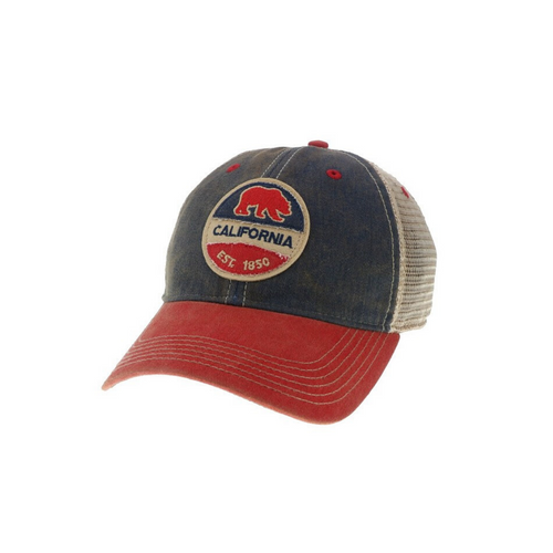 CALI BEAR TRUCKER HAT | RED