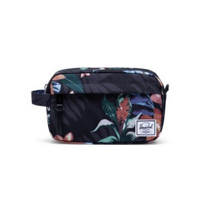 HERSCHEL CHAPTER CARRY ON TRAVEL KIT | SUMMER BLACK FLORAL
