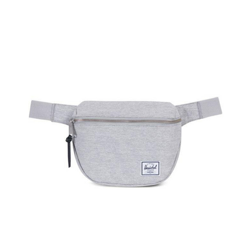 HERSCHEL CLASSIC FIFTEEN FANNY PACK LIGHT GRAY CROSSHATCH