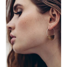 Load image into Gallery viewer, PETITE HATHOR HOOPS