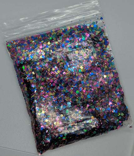90's Vibe Chunky mixed glitter - Craft Stash