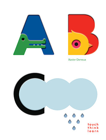 TouchThinkLearn: ABC by Xavier Deneux