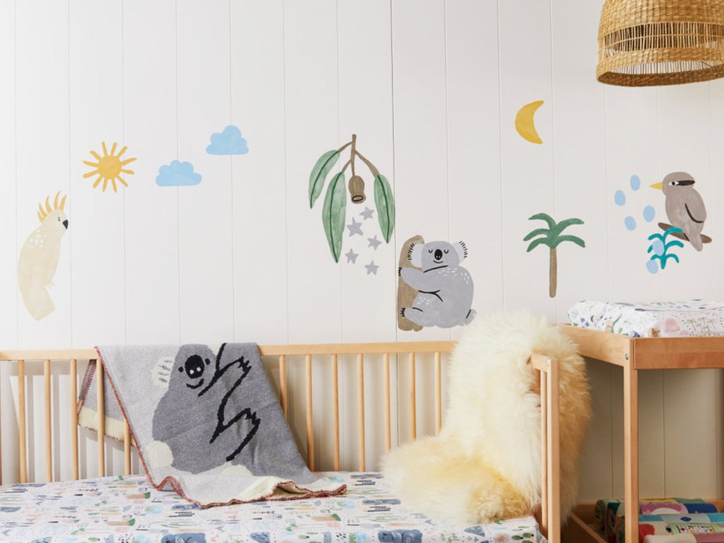 Fabric Wall Decal - Out Back Dreamer
