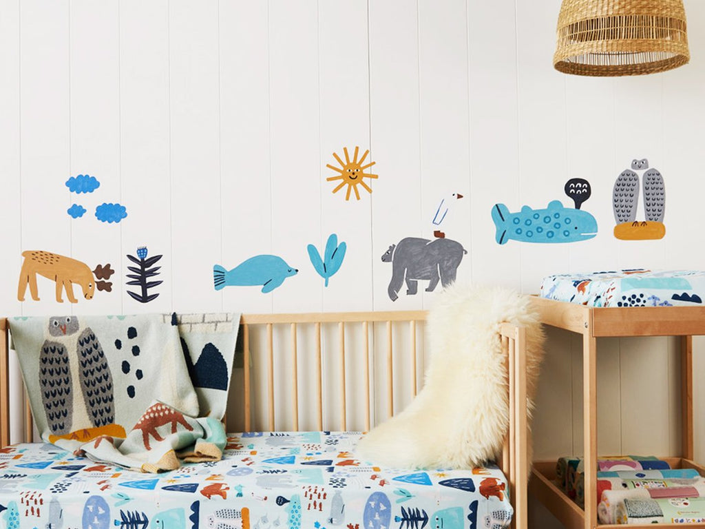 Fabric Wall Decal - Arctic Park