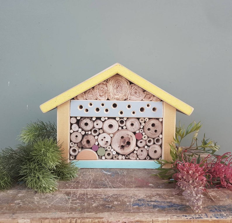 Solitary Bee Home Chalet Style