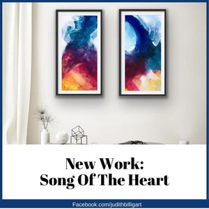 New Paintings: Song Of The Heart