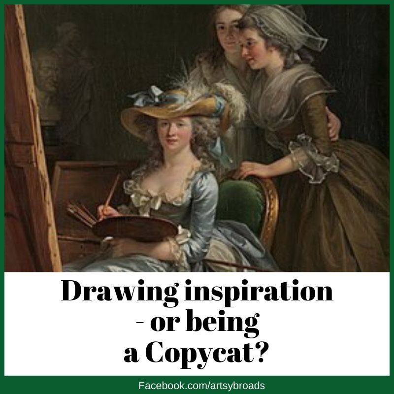 Drawing inspiration - or being a Copycat?