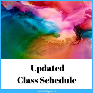 Updated Class Schedule