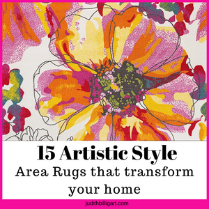 15 artistic style area rugs that transform your home