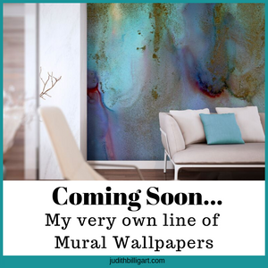 Coming Soon .... My very own line of Wallpaper Murals
