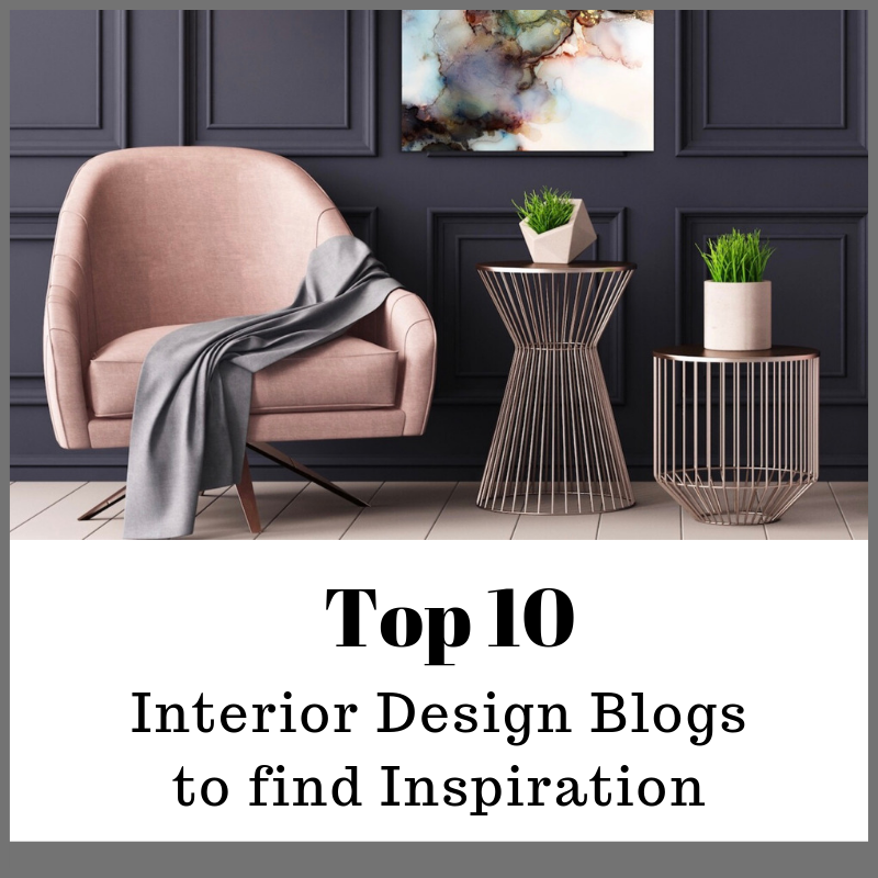 My top 10 Interior Design Blogs to find Inspiration