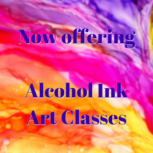 New! Local classes for Alcohol Ink Art