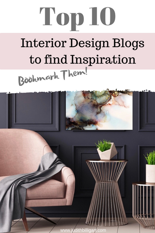 Top 10 Interior Design Blogs to find Inspiration